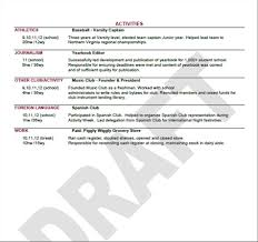 Common App Resume Format Meltemplates