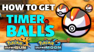 HOW TO GET Timer Balls in Pokémon Ultra Sun and Ultra Moon - YouTube