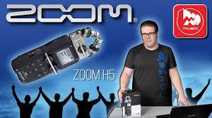 <b>ZOOM</b> H5 - Портастудия, <b>цифровой диктофон</b> - YouTube