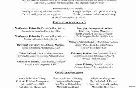 Security Resume Sample Security Officer Emergency Services Professional 100 Guard Resume 81