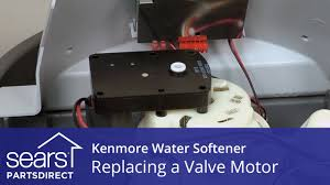 How To Repair A Water Softener How To Replace A Kenmore Water Softener Valve Motor Youtube