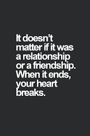 Sad Friendship Breakup Quotes