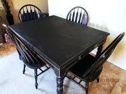 serene village black distressed kitchen table and chairs dining table distressed round dining farmhouse tables black