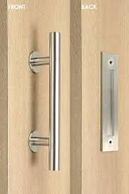 sliding glass patio door handle set with mortise lock keyed