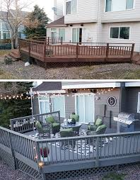 patio deck decorating ideas. Look At This Deck Makeover Before And After! Katy Byrne Of DBK: Designs By Shows How Easy It Is To Make A Big Impact On Your Outdoor Space. Patio Decorating Ideas D