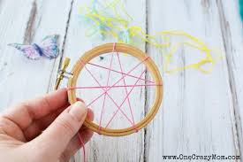 Diy Dream Catchers For Kids How To Make A DreamCatcher For Kids Fun And Colorful Craft Activity 82