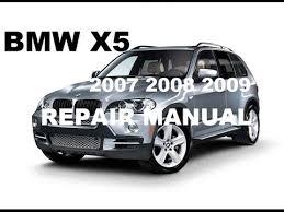 2007 2008 2009 bmw x5 factory repair manual 2007 2008 2009 bmw x5 factory repair manual