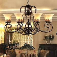 wrought iron chandeliers rustic antique black wrought iron chandelier rustic arts crafts bronze chandelier with 8