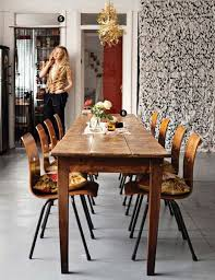 long narrow dining table