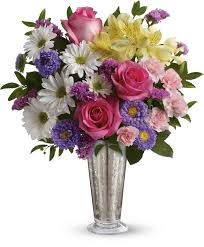 smile shine spring bouquet flower bouquets spring s best and brightest flowers in a dazzling display