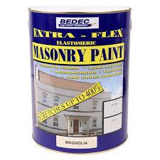 Flexible Masonry Paint Bedec Extra Flex Elastomeric Masonry Paint