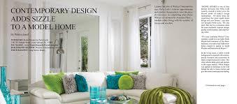 Small Picture Model Homes by Perla Lichi Featured in Florida Decor PerlaLichicom