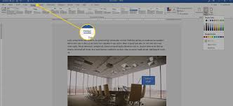 Design Change Note Format Change The Display Color In Word