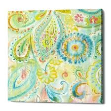 epic graffiti spring dream paisley xii by canvas wall art x free today