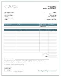 Service Quotes Templates 10 Service Quote Templates Free Quotation Templates