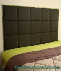 fascinating diy upholstered headboard you finest designs fabric wall mounted