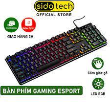 Bàn Phím Máy Tính Gaming RGB SIDOTECH YINDIAO V4 Có Dây / Đèn LED RGB Chống  Nước Chơi Game Máy Tính Esport - Chính Hãng - Bàn phím chơi game