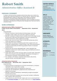 Office Assistant Duties On Resume Administrative Office Assistant Resume Samples Qwikresume