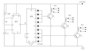 simple traffic light controller sigmatone simple traffic light controller circuit diagram simple traffic light controller small