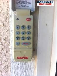 change code on garage door keypad genie garage door opener keypad owners manual instructions programming wired
