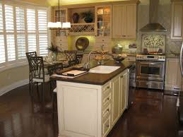 Kitchen Dark Wood Floors Black Metal Crystal Simple Chandelier White Rattan Window Blinds