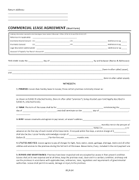 Also, agreements should relate specifically to the particular facts of each situation. Free Washington Commercial Lease Agreement Short Form Pdf Docx Template