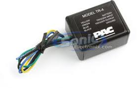 pac tr 4 tr4 remote turn on module sonic electronix product pac tr 4