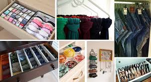 15 creative ideas to organize your closet and drawers