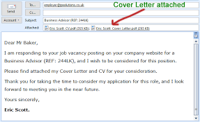 How To Email A Resume Sample Email For Sending Resume