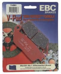 Ebc Brakes Fa196v Semi Sintered Disc Brake Pad Fits Rear Only