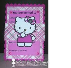 Hello Kitty Invitation Hello Kitty Invitations