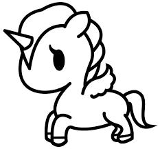 Disegni Da Colorare E Stampare Unicorni Img