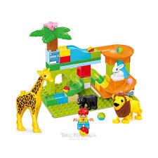 Jual Kiddy Star Mainan Balok Animal Slide Ball Original | ACE