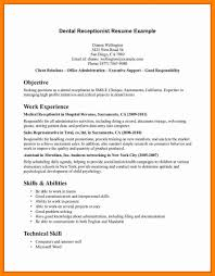 Medical Receptionist Resume Template Resume Templates Medical