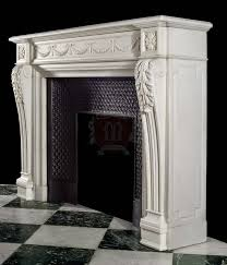 Fireplace Mantels design in limestone or marble by marvelous marble