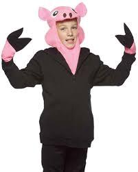 apple costume. child\u0027s pig costume kit apple