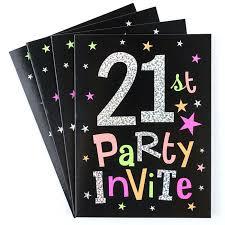 21st birthday invitations st birthday party invitation cards pack of a vine birthday invitation 21st birthday 21st birthday invitations