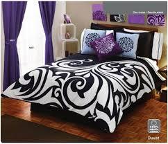 purple bedroom set bedrooms decorating ideas Bedroom Ideas With Black  Wallpaper