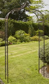 fleur de lys metal garden arch uk