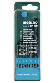 """<b>Набор сверл</b> по металлу Metabo """"HSS-R"""", <b>2-8</b> мм, 6 шт — купить в ..."""
