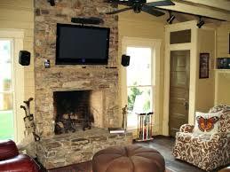 fireplace stone veneer home depot panels over brick natural installation