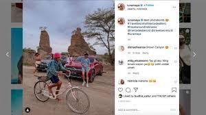 Luna sendiri memilih roadbike alias sepeda balap. Luna Maya Dolan Ning Semarang Dari Gowes Hingga Foto Di Brown Canyon