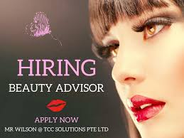 beauty advisor part time sgd per hour commission singapore beauty advisor part time sgd 7 per hour commission singapore