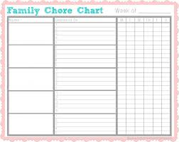 chore chart template for teenagers chore chart chore list printable going to try this to be more