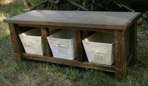 ... Home Design : Rustic Entryway Bench With Storage Pantry Baby rustic  entryway bench with storage with ...