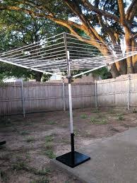 portable outdoor clothesline umbrella clothesline umbrella