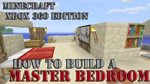 Minecraft Bedroom Xbox 360 How To Build A Master Bedroom Part 2 Minecraft Xbox 360 Edition