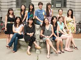 Of asian women in college