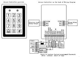 rfid card access control lock for door dh 7612, view access rfid access control wiring diagram at Rfid Access Control Wiring Diagram