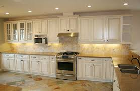 white painted glazed kitchen cabinets. Image Of: Glazed Kitchen Cabinets Vs White Painted